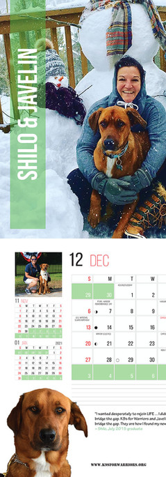 December 2020 Calendar Page