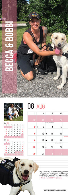 August 2020 Calendar Page