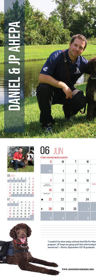 June 2020 Calendar Page