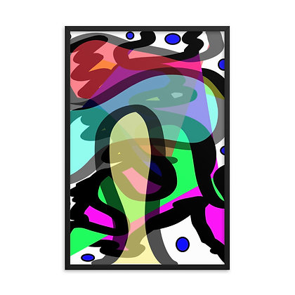 "Title ""Clarium"" - Abstract Drawing by Jennifer Mrozek Weiss"