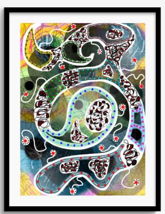 Framed Print 44