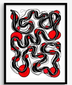 Framed Print 84