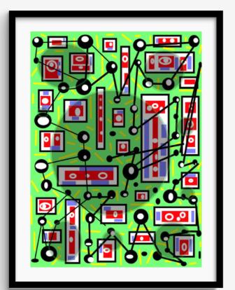 Framed Print 52