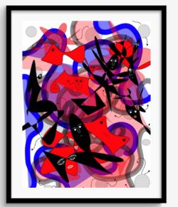 Framed Print 87