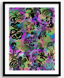Framed Print 80