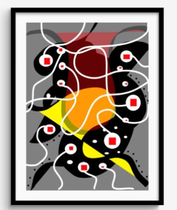 Framed Print 85