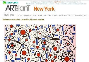 Press & Media | Jennifer Mrozek Weiss - Abstract Art