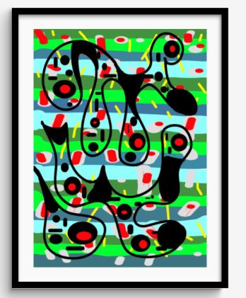 Framed Print 77
