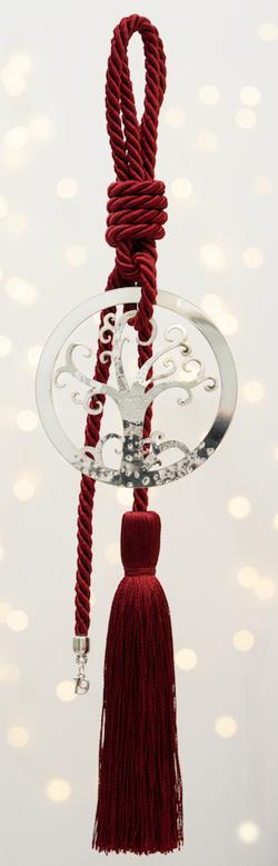 το δέντρο της ζωής χειροποίητο γούρι - ασήμι & κράμα μετάλλων