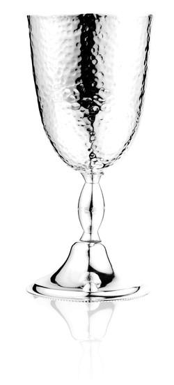 ποτήρι γάμου σφυρήλατο - ασήμι & κράμα μετάλλων