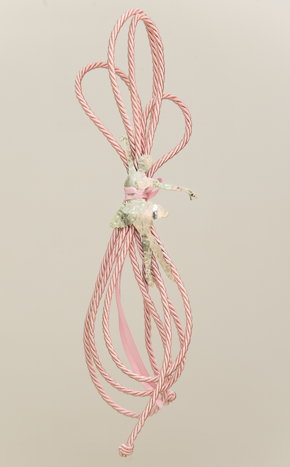 μπαλαρίνα χειροποίητο γούρι - ασήμι & κράμα μετάλλων