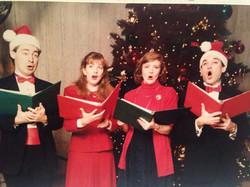 Christmas Caroling 1990