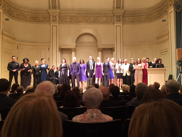 Carnegie Hall 2016