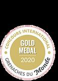 Medalla de oro Concours Grenaches du Mon