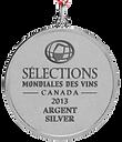 selections mondiales des vin 2013 argent