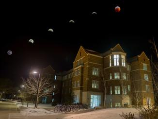 Cassat Lunar Eclipse