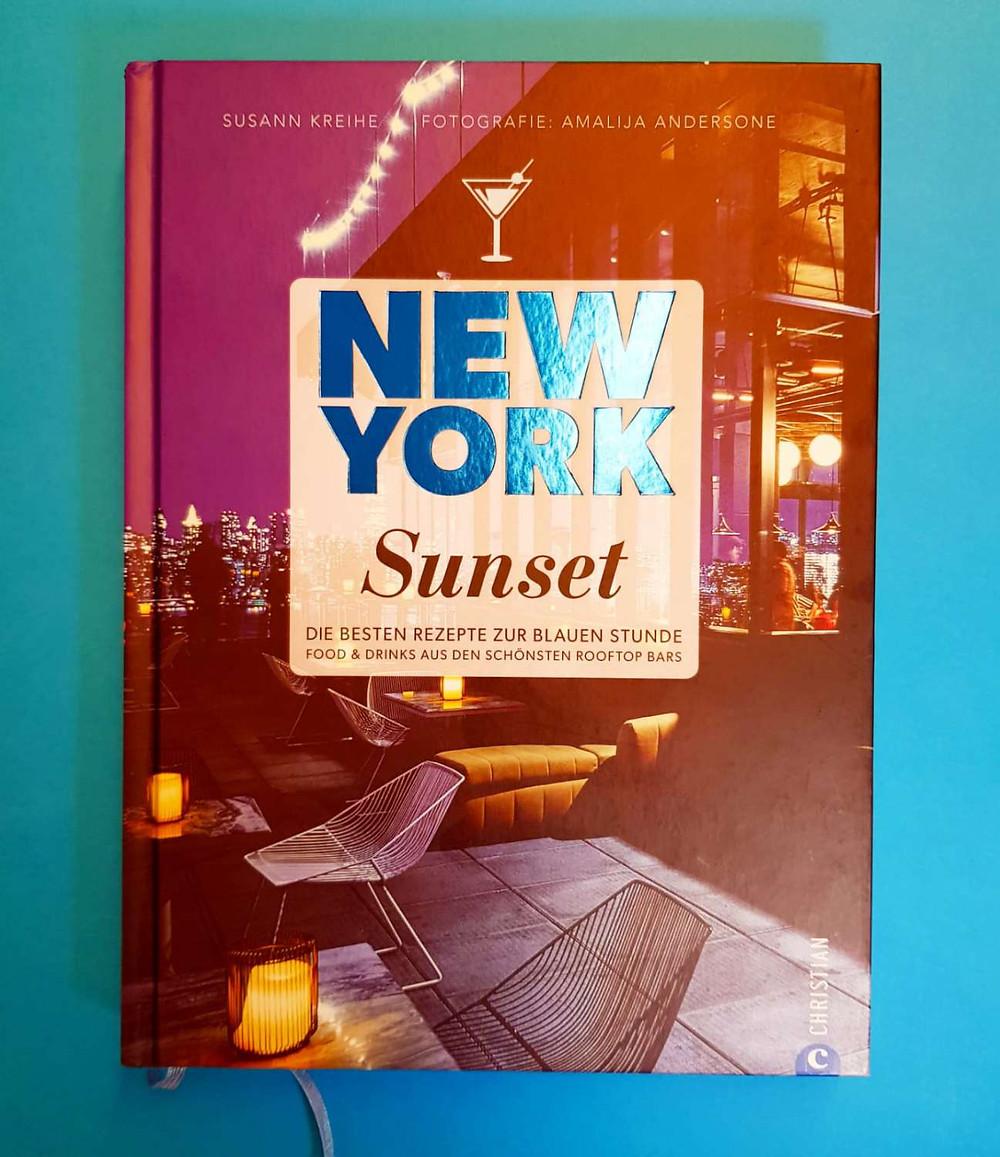 """""""New York Sunset"""" von Susann Kreihe"""