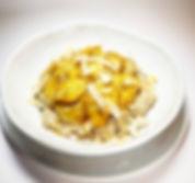 7 Saaten Hot Hafer mit gebratene Bananen