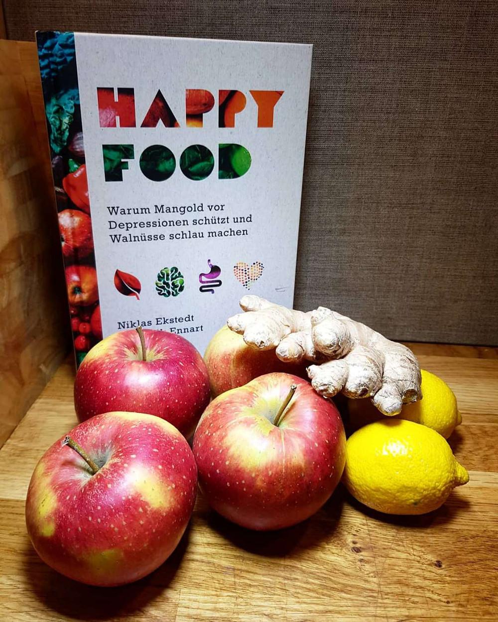 Zutaten: Äpfel, Ingwer, Zitronen