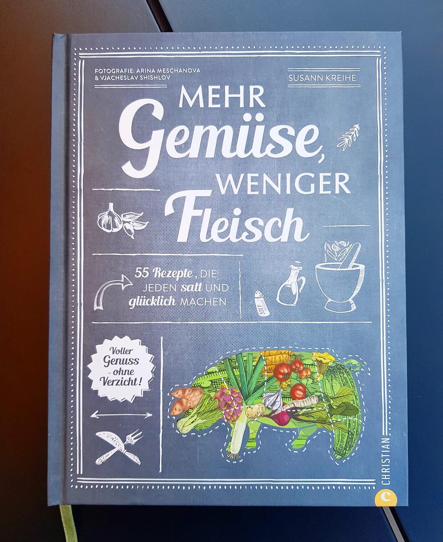 """""""Mehr Gemüse weniger Fleisch"""" von Susanne Kreihe"""
