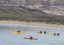Kayak en Patagonia, kayak El Calafate, Argentina, Kayaking in Patagonia, kayak in Calafate, Santa Cruz