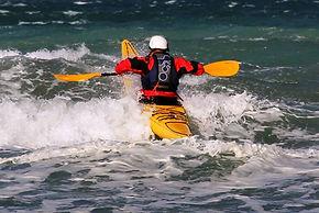 Kayak en patagonia, Kayak en Calafate