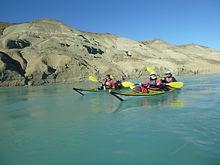 Kayak en Patagonia, kayak en calafate, El Calafate, río la leona, El Chaltén, Lago Argentino, Kayak en Lago Argentino, kayak río santa cruz