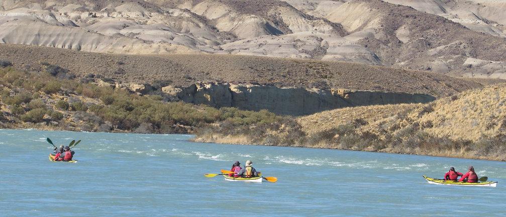 Kayak Santa Cruz, Kayak en Patagonia, Kayak en El Calafate, Argentina, Kayaking in Patagonia, Santa Cruz, kayak in Calafate