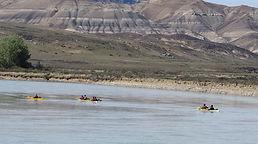 Kayak en Patagonia, kayak en calafate, El Calafate, río la leona, El Chaltén