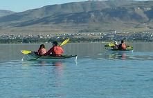 Kayak en Patagonia, Kayak en El Calafate, Argentina, Kayaking in Patagonia, Santa Cruz, kayak en Lago Argentino