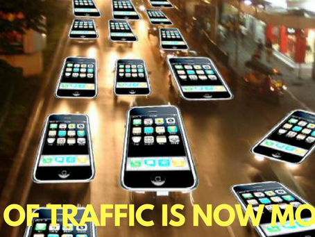 Research Study Shows 57% of Search Traffic is Now Mobile