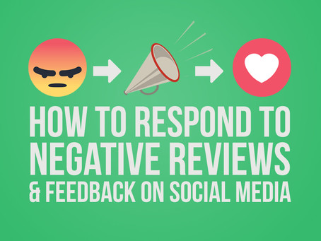 How To Address Negative Feedback on Social Media