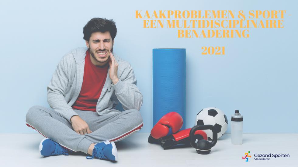 Bijscholing Kaakproblemen & sport