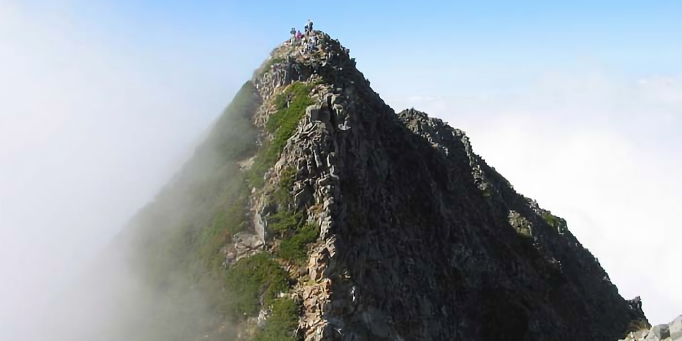 西穂高岳独標ハイキング