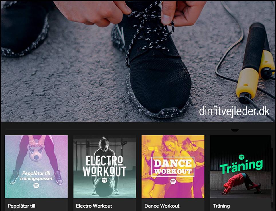 Spotify til F15 træning | dinfitvejleder.dk