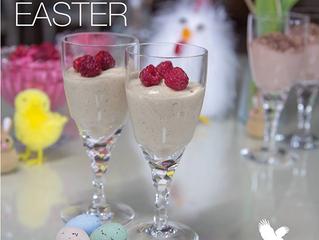 4 lækre påskeopskrifter på desserter med Forever Ultra Vanilla og Ultra Chocolate