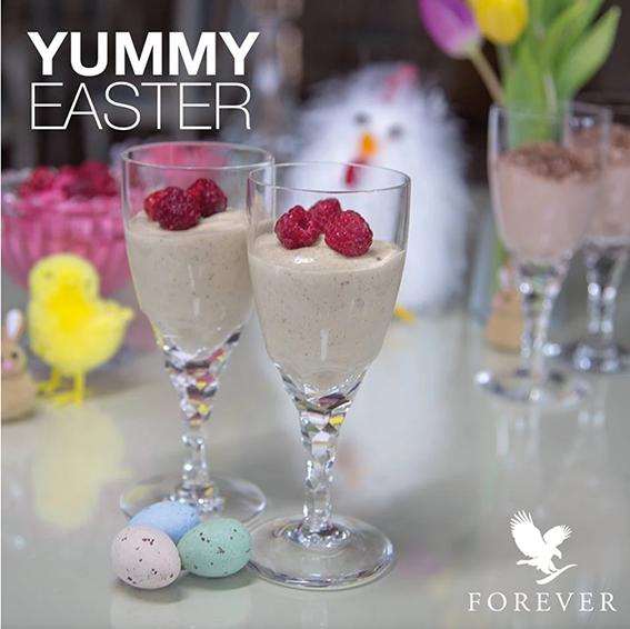 Tropisk mousse dessert med Forever Ultra Vanilla
