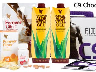 C9 med ny og forbedret Aloe Vera Gel