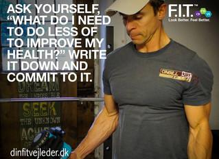 Motion er vigtig for dig