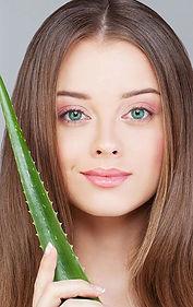 Smuk hud med Aloe vera