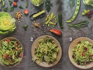 Tre grønne salater til dit C9 kostprogram
