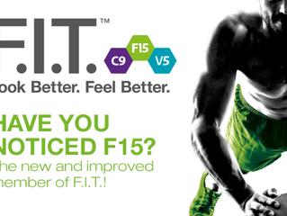 F15 - her er det! Sund og fit med varige resultater