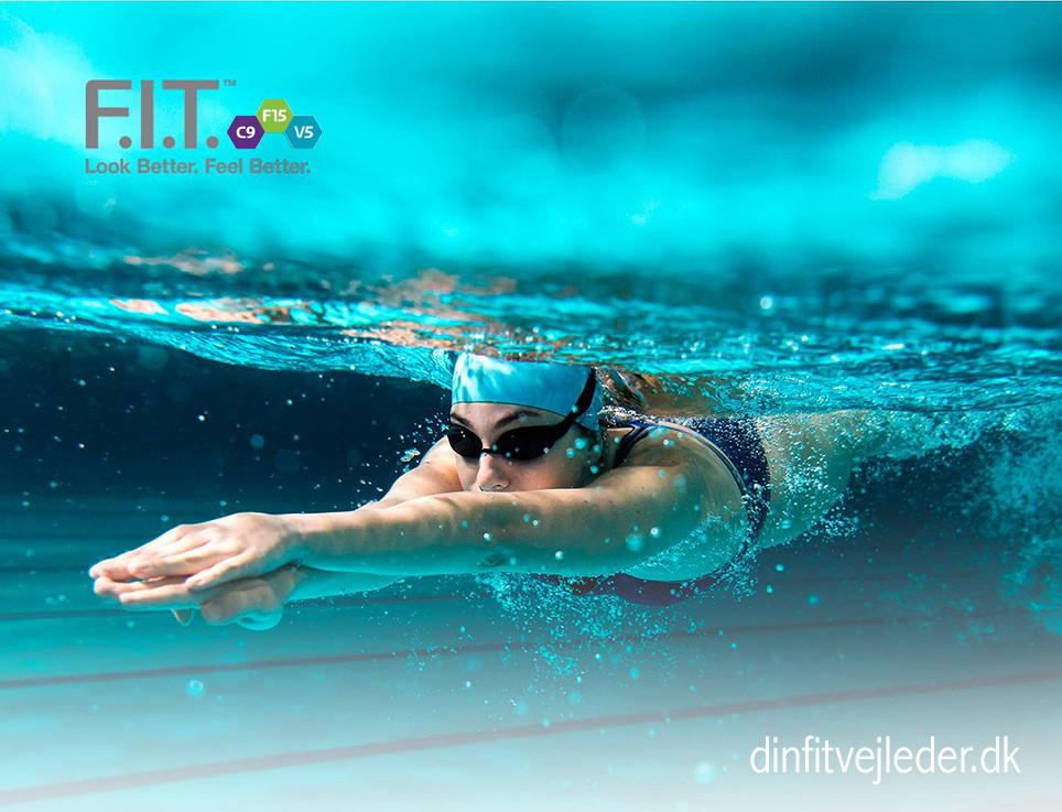 Svømning er godt på C9 og F15 | dinfitvejleder.dk