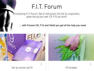 Gratis medlemskab af C9, F15 og Vital5 forum: F.I.T. Forum 2019