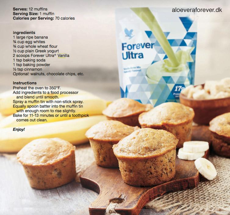 Forever Ultra muffins | dinfitvejleder.dk