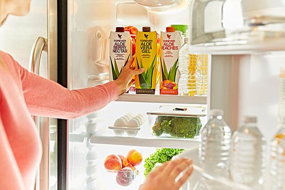 Forever Aloe Vera Gel skal opbevares i køleskab