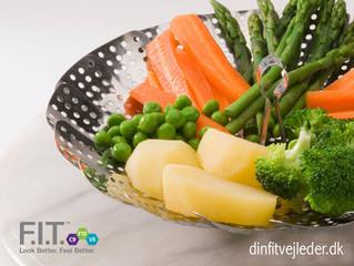 Dampede grøntsager - sundt mellemmåltid på F15