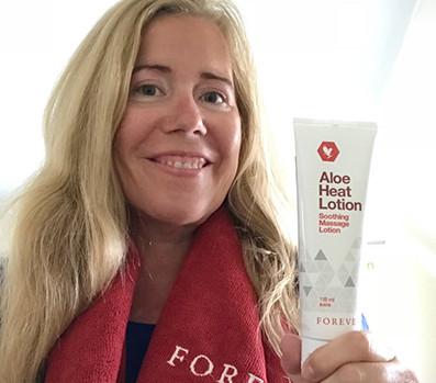 Aloe Heat Lotion til ømme muskler på F15 | dinfitvejleder.dk
