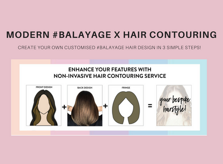 Modern Balayage x Hair Contouring
