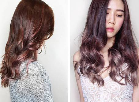 Salon Vim Director John Tham On Why Rose Gold Hair Is Big Right Now